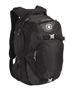 OGIO 411047 Squadron Pack Black 17\' Laptop