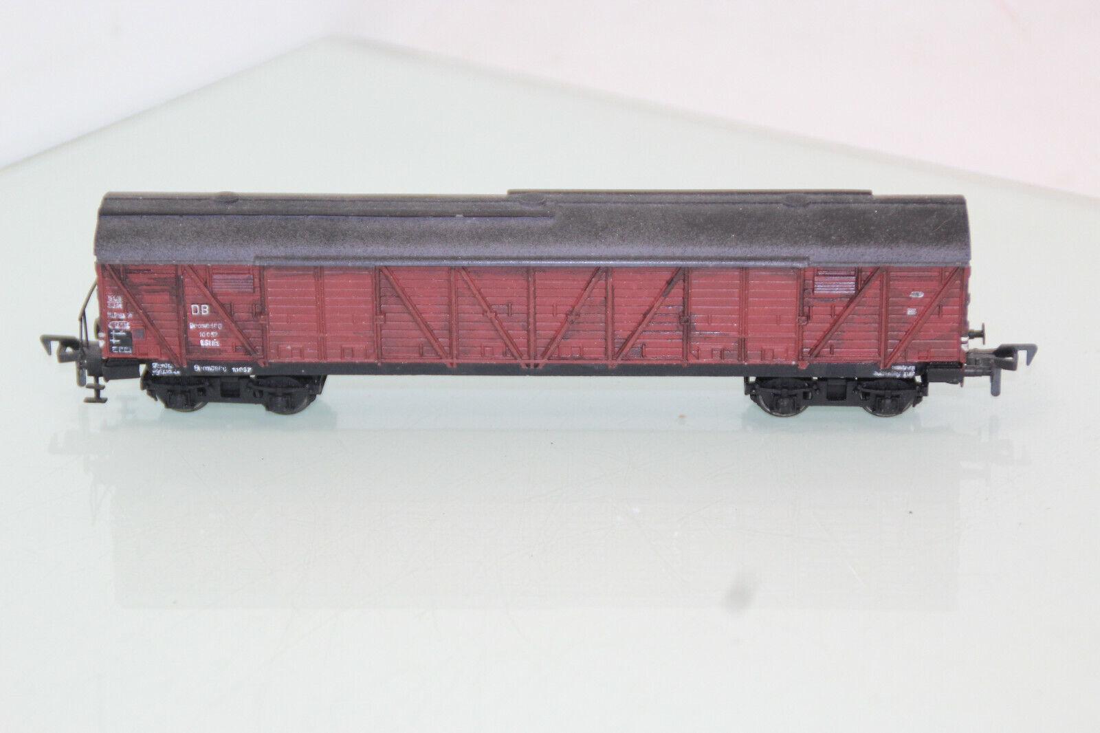 Trix Express h0 20 91 extensa zona de mercancías Cochero Bromberg DB discretamente patinado en (js7226). o