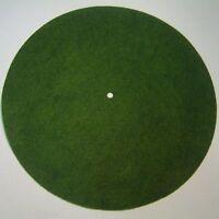Victor Phonograph Large Light Green Turntable Felt - Round (fits 12 Diameter)