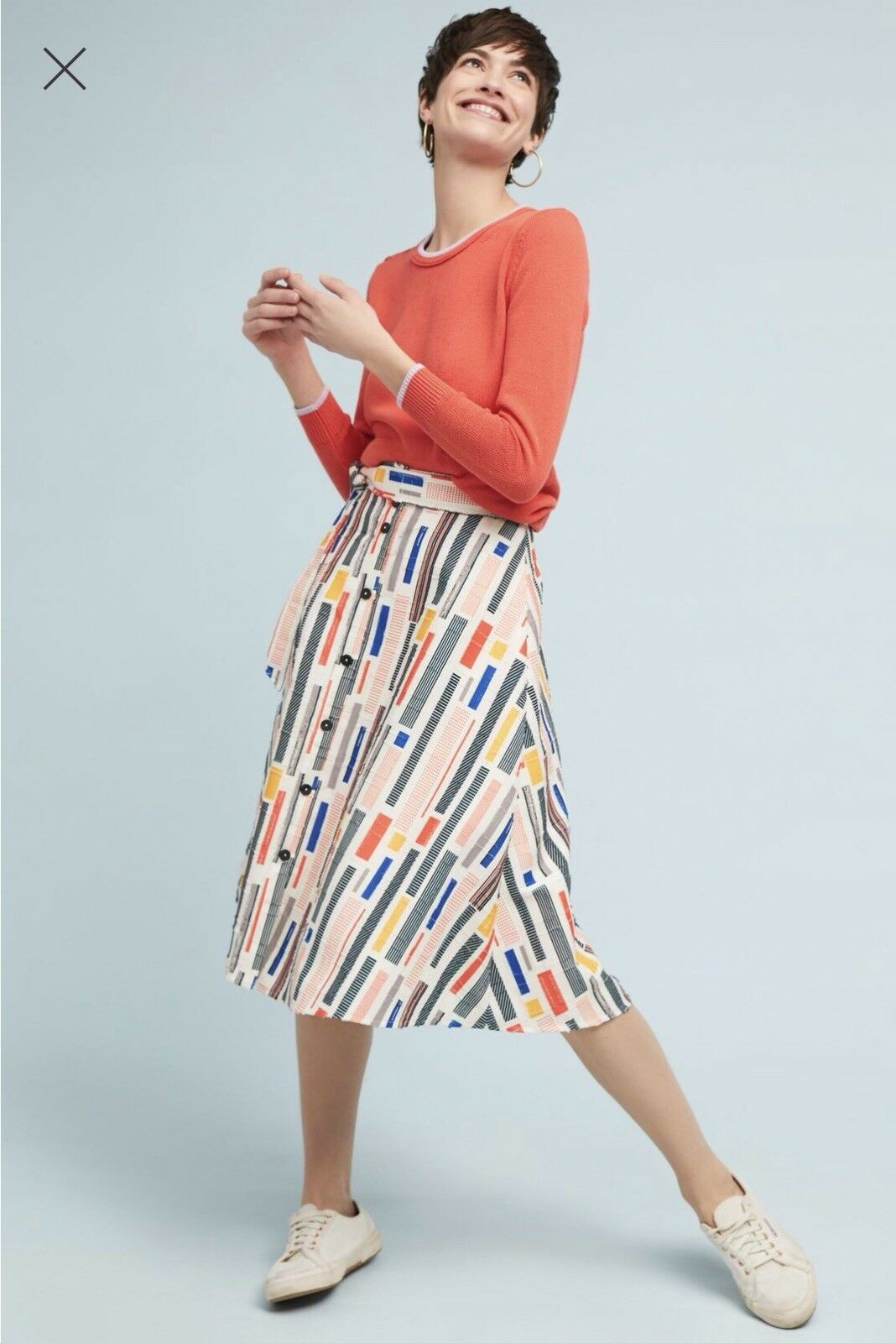 Anthropologie Willem Skirt, 12P- BNWT- SOLD OUT