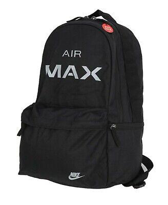 Nike Air Max Backpack Bags Sports Black