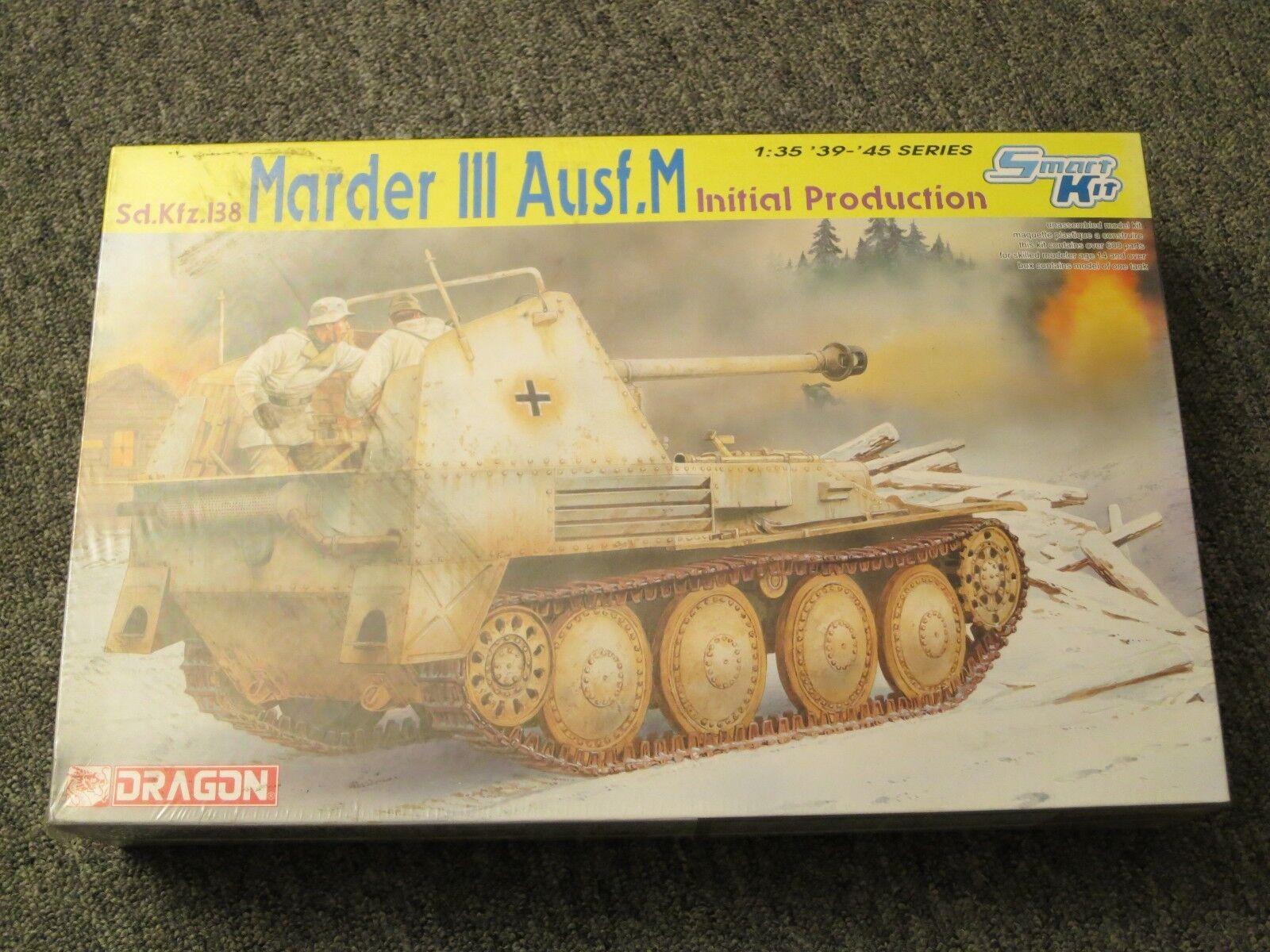 DRAGON 1 35 Sd.Kfz.138 Marder III Ausf.M Initial Prod. Kit '39-'45 Series