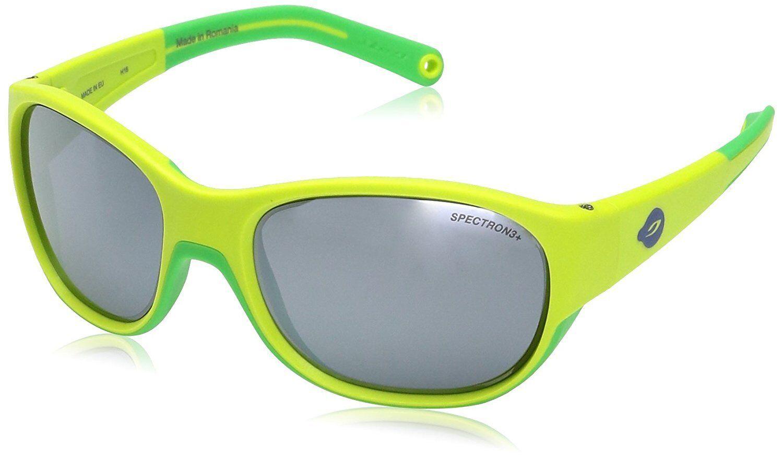 NEW Julbo J4911116 Kids' Luky Spectron 3+ Sunglasses in Green - Green color