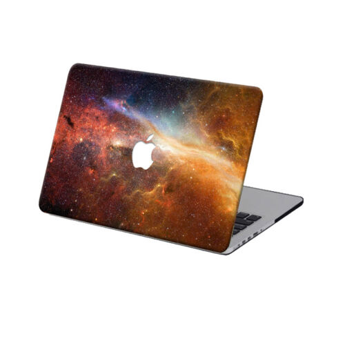 """Galaxy Printed Laptop Hard Case Keyboard Cover For Macbook Pro Air 11/""""12""""13/"""" 15"""""""