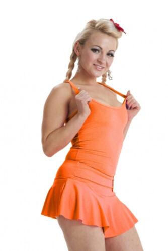 Femmes Mesdames Kid/'s extensible débardeur dos nageur partie danse porter robe fantaisie