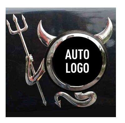 1pcs Car SUV Body Logo 3D Devil Style Car Sticker Decal Badge Emblem Accessories