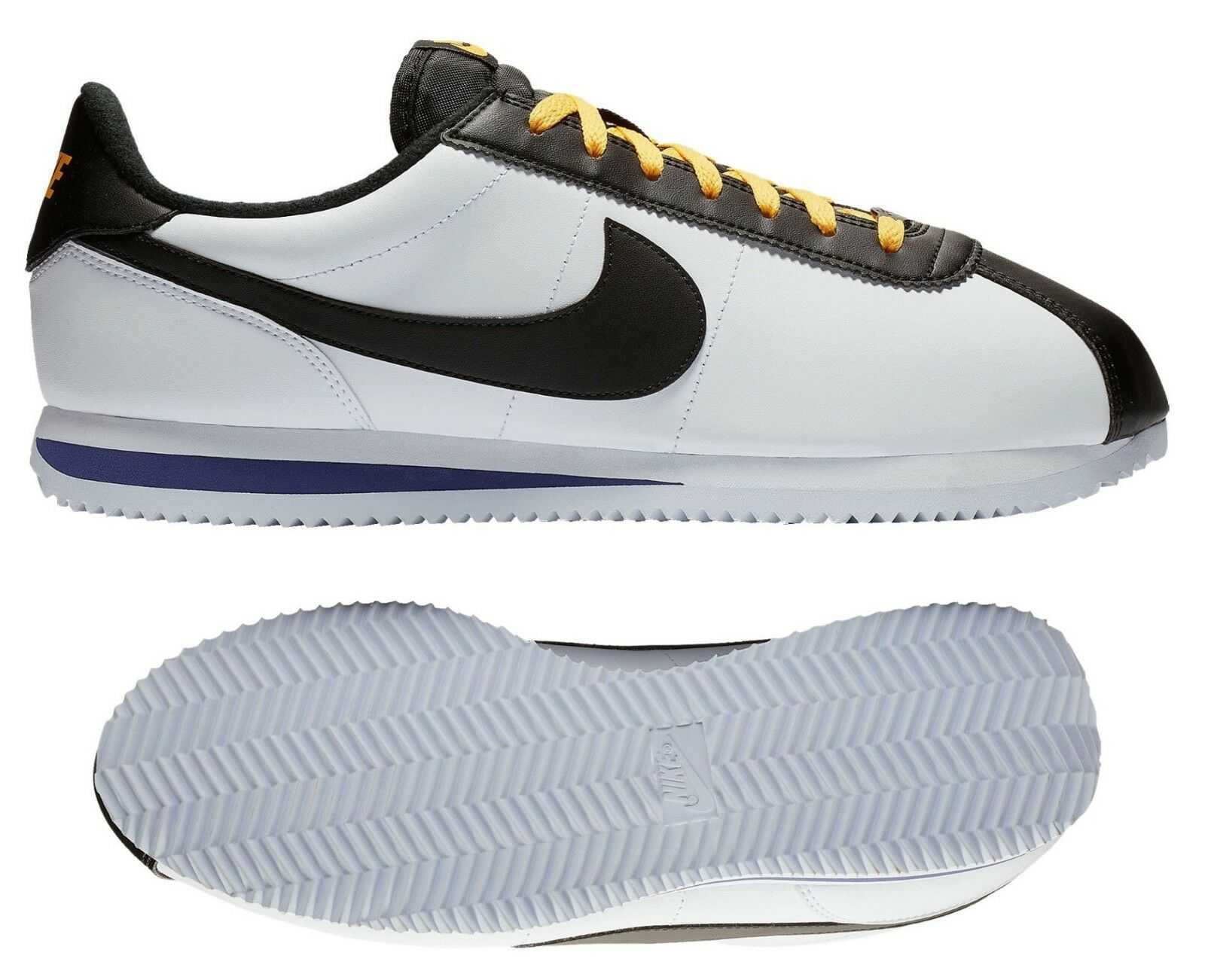 New NIKE Cortez Leather Retro Classic Casual shoes Mens white all sizes
