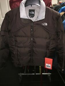 8dacd98f0c49 The North Face Youth Girls Nuptse Down Jacket XLarge color  Brownie ...