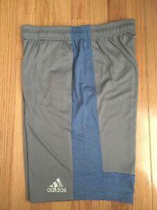 NWT-Men-039-s-Adidas-Clima-Cool-Climalite-Shorts-Tiro-Choose-Size-Gray-Blue-AJ2099