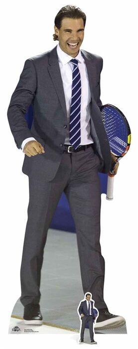 Nadal LifeGröße and Mini Cardboard Cutout    Standee Tennis Celebrity