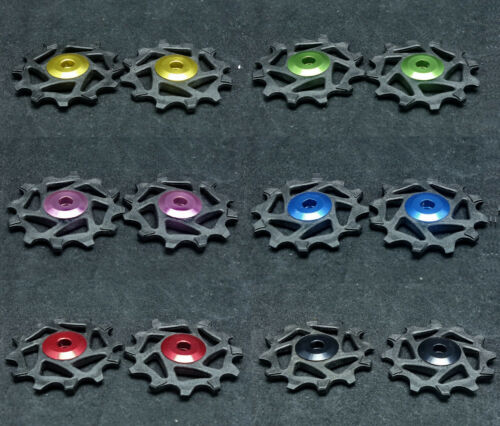J/&L 12T Ceramic Rear Derailleur Pulley Fit Shimano XTR M9000,M980 XT M8000 M780