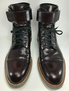 4825b7b0814c Louis Vuitton - Man Sword Ankle Boots - Size US 8 1 2 - Burgundy