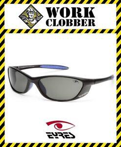 Details about Eyres Cobra Safety Glasses Matte Black Frame & Polarised Grey  Lens 307-M1-PG!