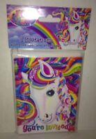 Lisa Frank Majesty Rainbow Pony Party Supplies - 8 Invitations W/ Envelopes