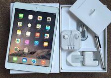 #GRADE A+# Apple iPad Mini 2 RETINA Display 32GB, Wi-Fi, 7.9in - White + EXTRAS