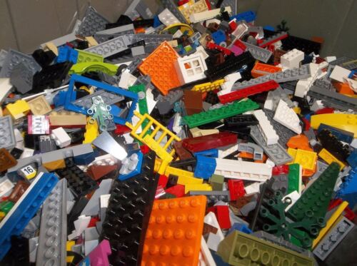 Legos by the Pound 1-999 Parts Pieces HUGE BULK LOT Bricks Blocks Assorted 100/%