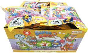 SUPERZINGS SERIE 4 Box Completo 30 Bustine 2 Personaggi ORIGINALE Rivals Kaboom