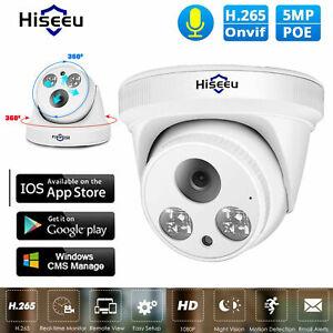 HISEEU-5MP-IP-Camera-HD-1920P-PoE-Night-Vision-IR-Detection-Dome-Cam-Security