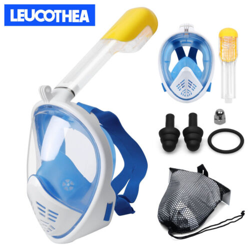 Seaview 180° Full Face Snorkel Mask Scuba Diving Snorkeling Set For GoPro Dry US