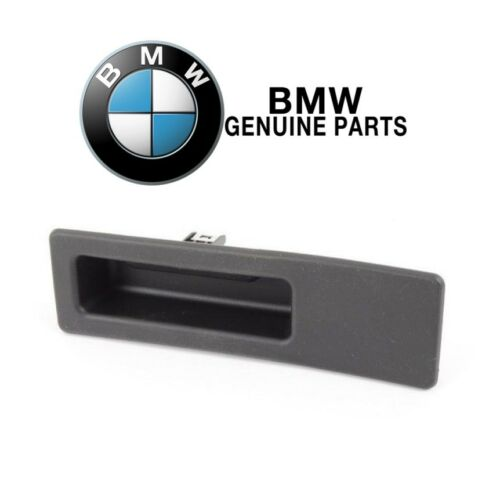 For BMW Trunk Lid Switch Handle Tailgate Boot Button Genuine 51247463161