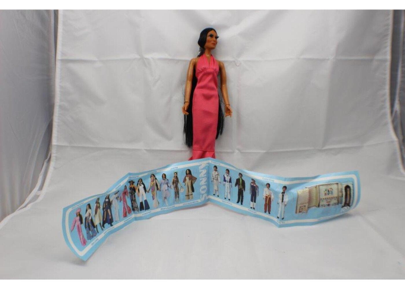 1976 muñeca de Cher Mego Vestido rosado Nuevo Stock Viejo Nuevo Vintage J.C. Penney especial