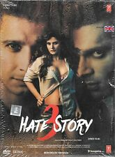 HATE STORY 3 - SHARMAN JOSHI - ZAREEN KHAN - NEW BOLLYWOOD DVD