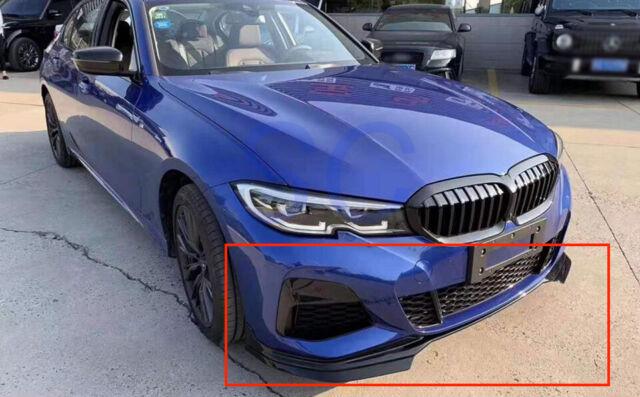 BMW G20 330 M340 Side Skirts M Performance Style Gloss ...