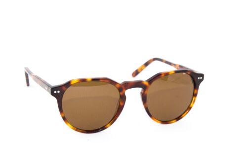 Occhiali Sole SUN LOVERS vintage retrò polarizzati marrone tartaruga verde 8039