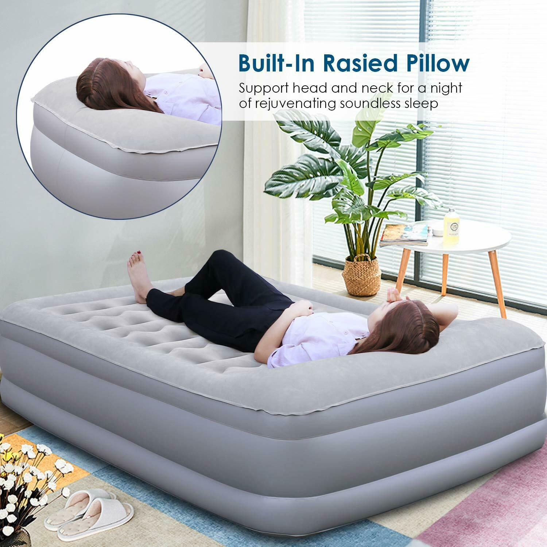 Air Bed Mattress Pillow Rest Queen Size Tiendamia Com