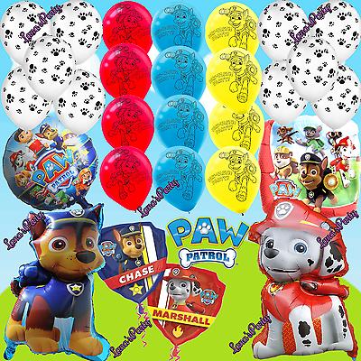 XL 3PC 1PC PAW PATROL SKYE MARSHALL Birthday Balloons Latex balloon