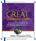 Great Communicators: Best Kept by Thompson Peter (CD-Audio, 2003)
