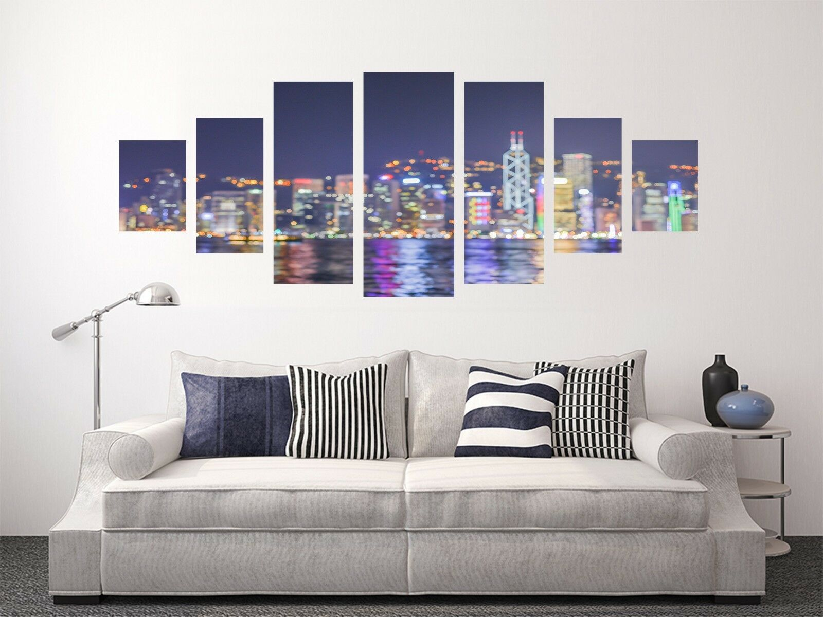 3D Night View City 66 Unframed Print Wall Paper Decal Wall Deco Indoor AJ Wall