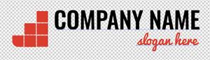 Fertiges Firmenlogo,Template #033 Vektorgrafik, Company Logo, Immobilien