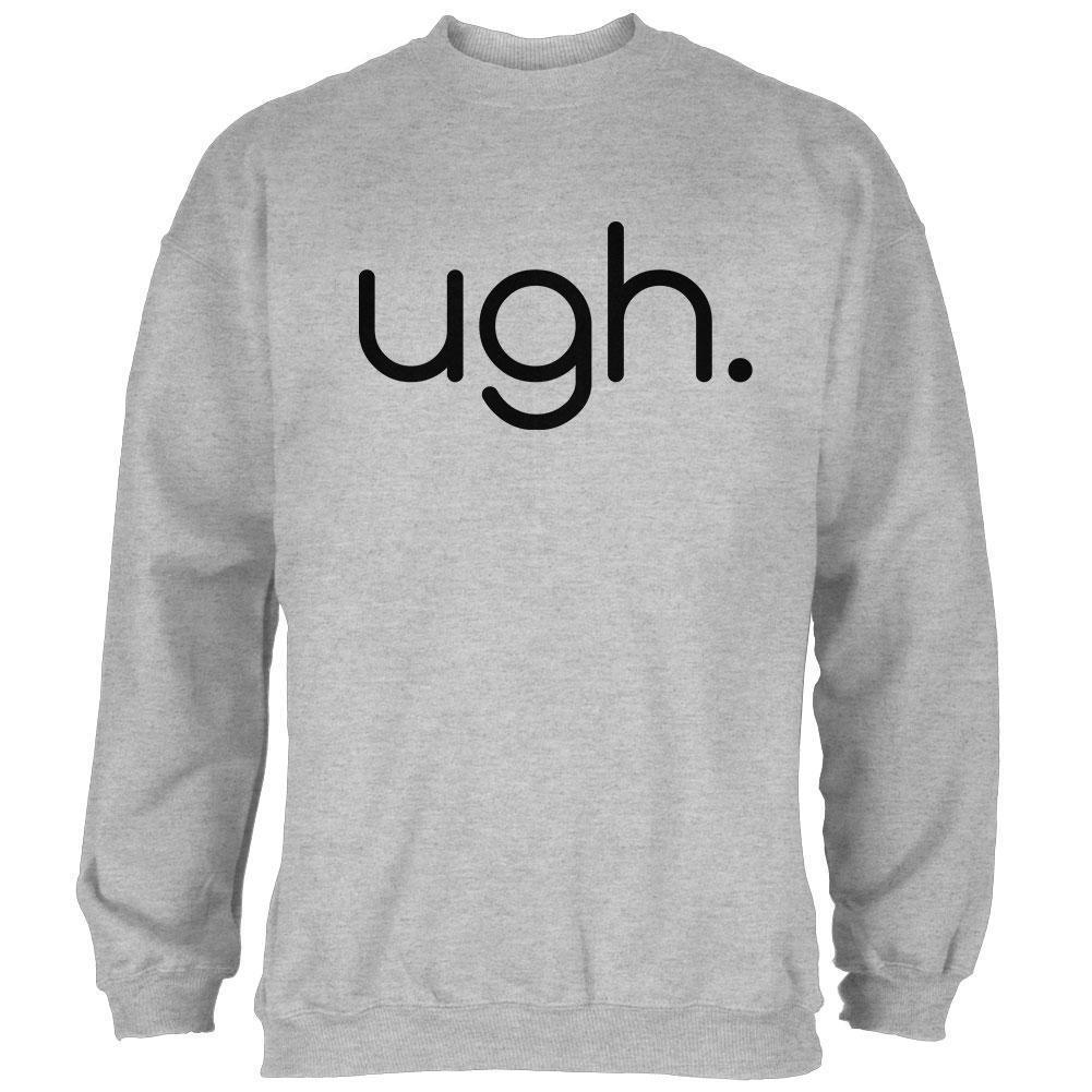 Funny Ugh Expression  Herren Sweatshirt
