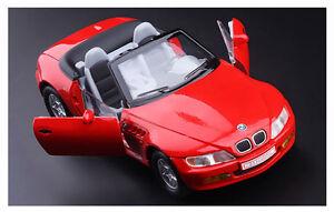red 1 28 scale bmw z3 diecast model car 1 28 doors open. Black Bedroom Furniture Sets. Home Design Ideas