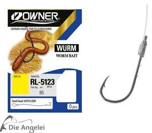 Owner-Wurm-Haken-RL-5123-in-verschiedenen-Groessen
