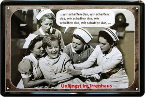 034-Wir-schaffen-das-034-Angie-Funny-Witzig-Satire-Spruch-20x30-cm-Blechschild-316