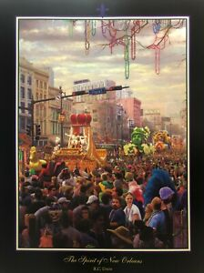 034-The-Spirit-of-New-Orleans-034-Mardi-Gras-by-RC-Davis-Signed