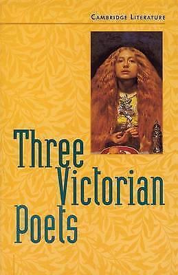 Cambridge Literature. Three Victorian Poets by Ogborn, Jane (Paperback book, 199