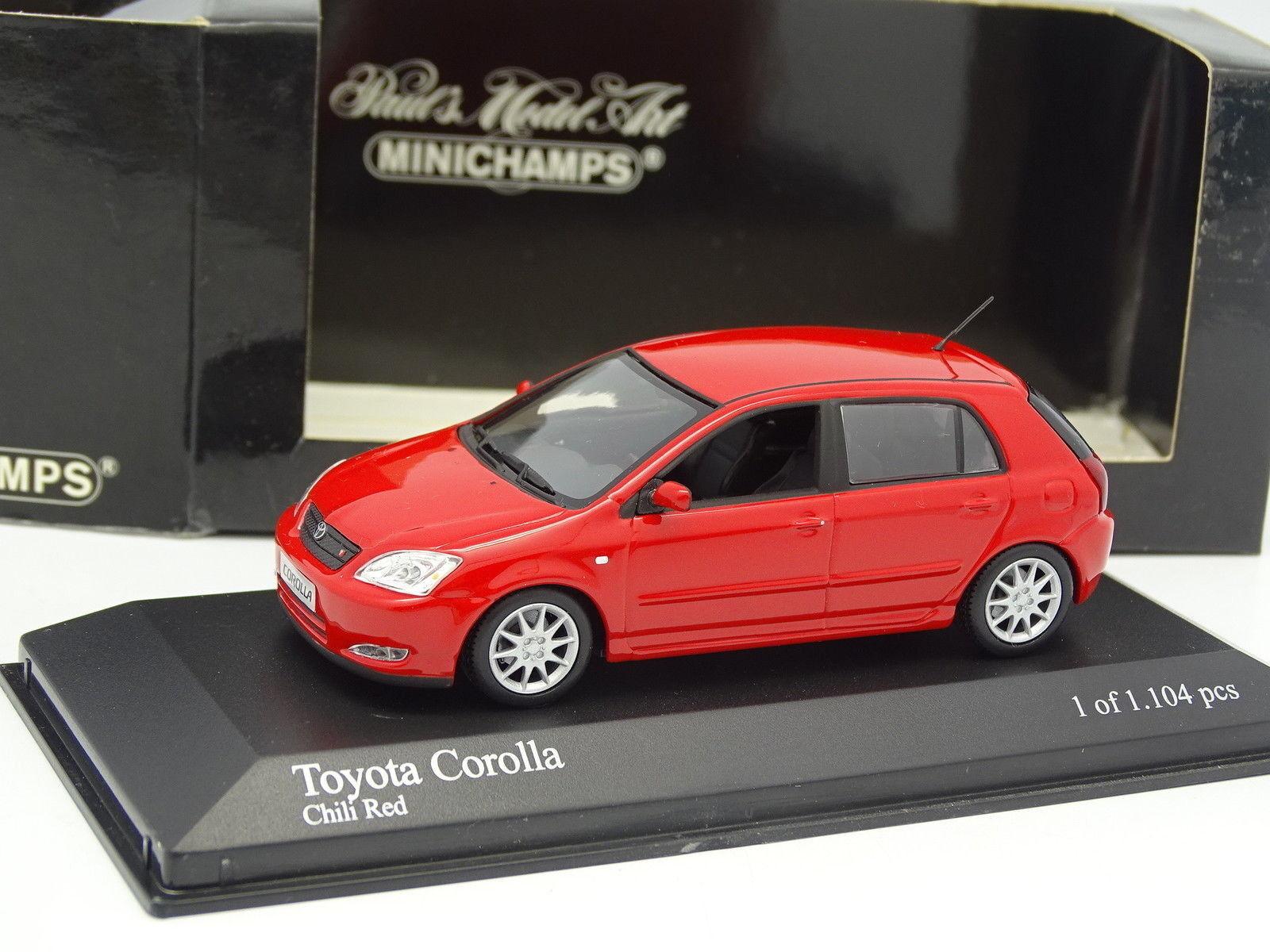 Minichamps 1 43 - Toyota Corlla T Sport Rouge