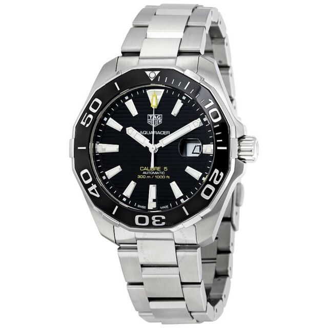 0a933a8a5a0 Tag Heuer Aquaracer Calibre 5 Automatic Watch 43mm Way201a.ba0927 ...