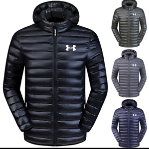 Men S Under Armour Down Jacket Winter Thick Coat Hooded