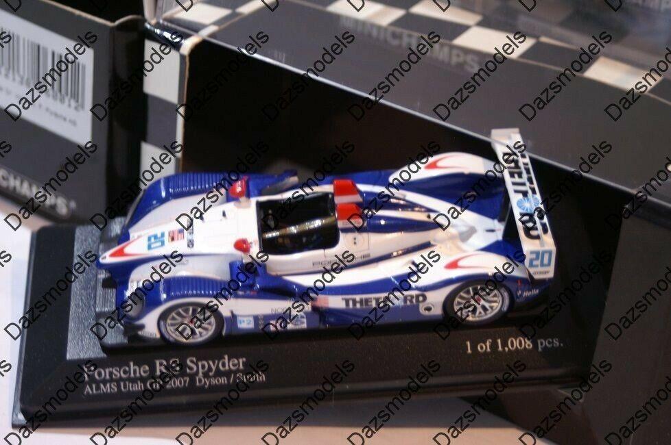 Minichamps Porsche RS Spyder ALMS Utah GP 2007 400 076620