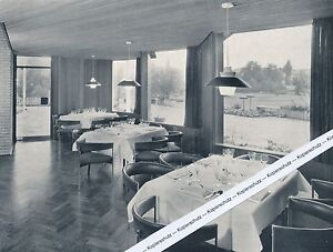Sindelfingen - Die neue Stadthalle - Gaststätte um 1965
