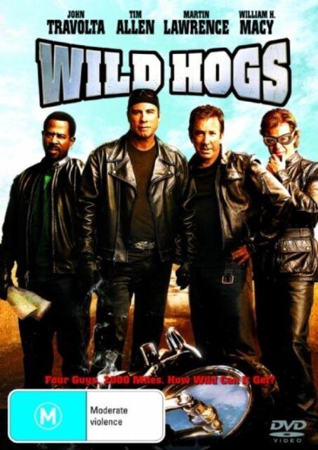 Wild Hogs (DVD) TIM ALLEN JOHN TRAVOLTA LIKE NEW CONDITION FAST FREE POSTAGE