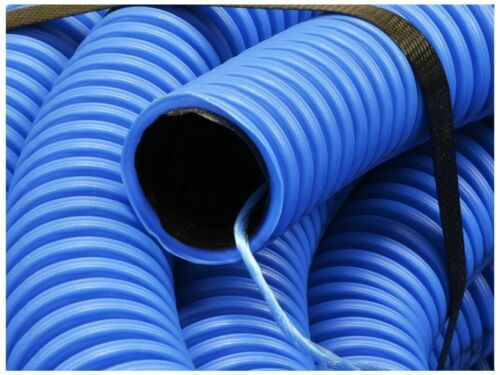 5m x 75mm Flexible Cable Conduit Waterproof Underground Duct tubing hose