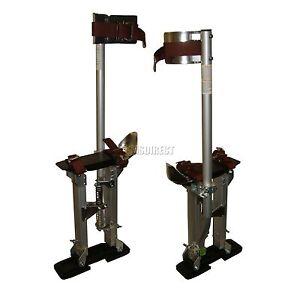 New-Pro-Aluminium-Painter-Painting-Paint-Plastering-Tool-Drywall-Stilts-18-034-30-034