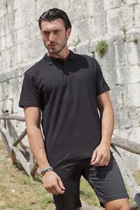 Polo Maglia T Shirt Uomo da Lavoro Cuoco Cucina Divisa Pizzaiolo ... 0ae3dd2f0683