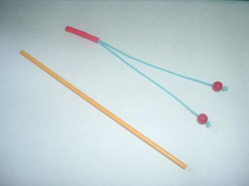 TYGRA Red Elastic Hand Made Toy Whip /& CHEETARA Bo Staff Weapons ThunderCats
