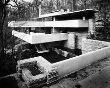 Frank Lloyd Wright House American architect  Black and White Art  Print Poster